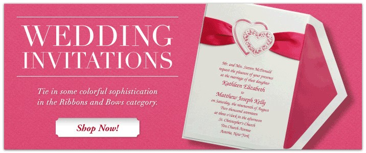 Contemporary, Elegant and Traditional Invitations