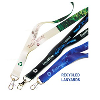 Recycled lanyards made in USA
