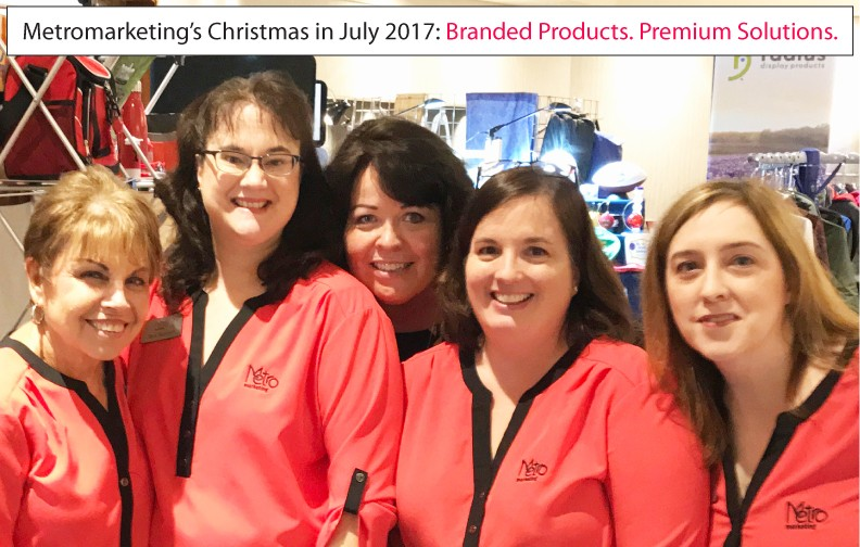 Where were you on July 26? Metromarketing was at Christmas in July!