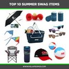 Top 10 Summer Swag Items