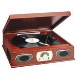 Custom Studebaker Wooden Turntable w/AM/FM Radio & Cassette