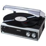 Custom Jensen Audio 3 Speed Stereo Turntable W/Built-In Speakers & Speed Adjustment (Black)