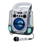 Custom Karaoke Night CD+G Karaoke Machine w/ Dancing Water LED Light Show