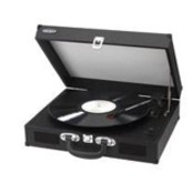 Jensen Audio Portable 3 Speed Stereo Turntable w/Built in Speakers, MP3 Encoding System