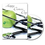 Custom Happy Doctor's Day Greeting Card with Matching CD
