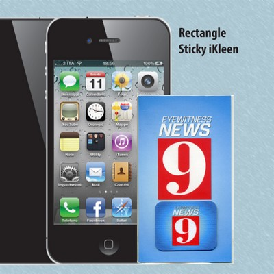 Sticky Ikleen Rectangle Screen Cleaners