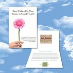 Custom Cloud Nine Oncology/Relaxation Music Download Greeting Card - FD83 Musical Sea/SPAD06 Art of Relax
