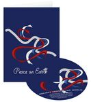 Custom Peace Dove Holiday Greeting Card w/ Matching CD