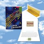 Custom Cloud Nine Birthday Music Download Greeting Card / Happy Birthday & Party Time