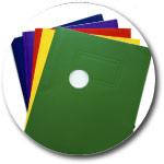 Custom 700MB CD-R Stock Graphics - Filing Graphic
