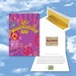 Custom Cloud Nine Birthday Music Download Greeting Card w/ It's Your Birthday Baby