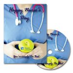 Custom Happy Nurse's Day Greeting Card with Matching CD