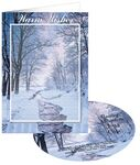 Custom Winter Stream Holiday Greeting Card with Matching CD