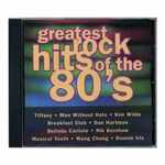 Custom Greatest Rock Hits of the 80's Music CD