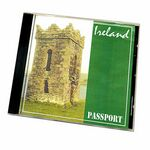 Custom Ireland Passport Travel Music CD