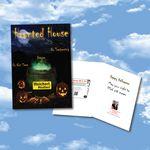 Custom Cloud Nine Halloween Download Greeting Card - CD22B Haunted House