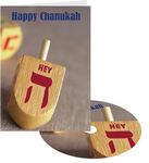 Custom Happy Chanukah Greeting Card with Matching CD