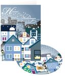 Custom Home for the Holidays Greeting Card w/ Matching CD