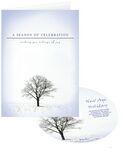 Custom Season of Celebration Holiday Greeting Card with Matching CD