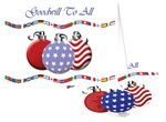 Custom Goodwill to All America Holiday Greeting Card with Matching CD