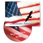 Custom Celebrate America Greeting Card with Matching CD