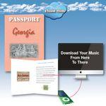 Custom Cloud Nine Acclaim Greeting with Download Card - TD11 V.1 / TD11 V.2 - Georgia