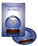 Custom Bright Days Holiday Greeting Card with Matching CD