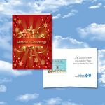 Custom Cloud Nine Christmas / Holiday CD Download Card - CD105 Joyous Holiday/CD122 Family & Friends