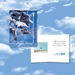 Custom Cloud Nine Christmas / Holiday CD Download Card - CD450 Joy of the Season/ CD320 Tree-Mendous Xmas