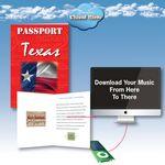 Custom Cloud Nine Acclaim Greeting with Download Card - TD09 V.1 / TD09 V.2 - Texas