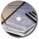 Custom 700MB CD-R Stock Graphics - Financial Forms