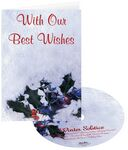 Custom Holly in Snow Holiday Greeting Card w/ Matching CD
