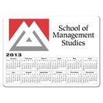 Custom Rectangle Calendar Magnet