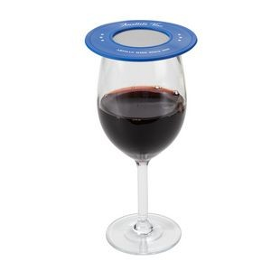 Ventilated Silicone Wine Glass Cover-Closeout