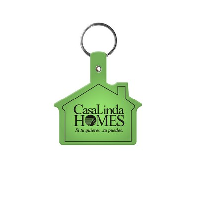 House Flexible Key Tag