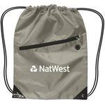Custom Drawstring Backpack w/ Zipper
