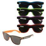 Custom Miami Two Tone Sunglasses