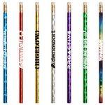 Custom Jo-Bee Prismatic Foil Wrap Pencil