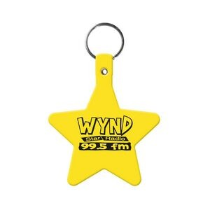 Star Flexible Key Tag