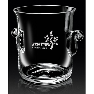 "European Crystal Legato Ice Bucket (8 1/2""x7""x6 1/4"")"