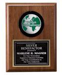 Custom Encase Encasement Wood Plaque Award