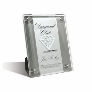 Medium Mira Stainless Plaque