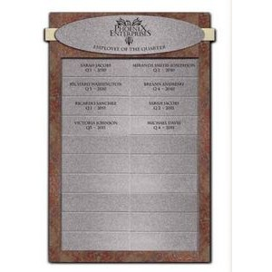 Employee Of The Quarter Corporate Recognition Plaque