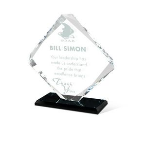Stronghold Glass Crystal Award
