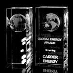 Custom 2D Tower Crystal Award (2