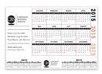 Custom Repositionable Vinyl Combo Calendar