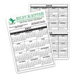 Custom Jumbo Calendar Card (Pocket Card)
