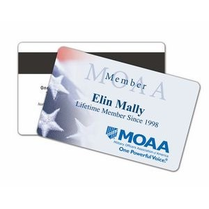 "Credit or Membership Card (2 1/8"" x 3 3/8"" x 0.030)"