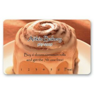 "Loyalty & Membership Card (2.125""x3.375"")"