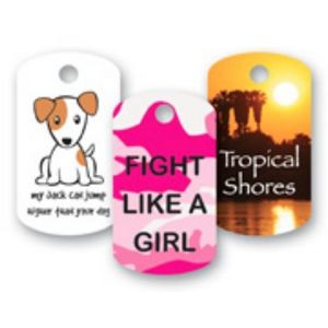 "Loyalty Card (1.125x2"") Dog Tag"
